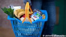 Konsumklimastudie der GfK Lebensmittelkorb