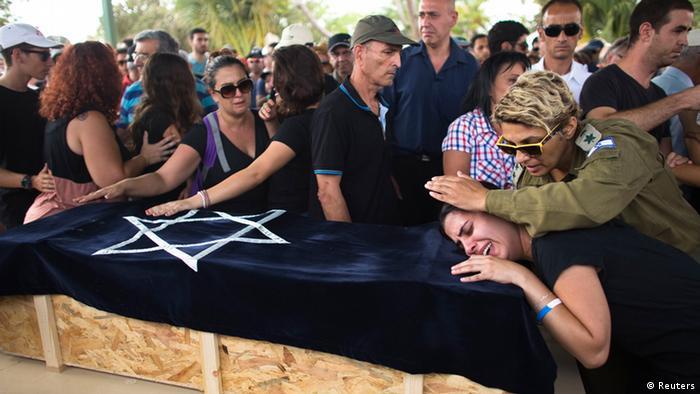 Bildergalerie Gaza Israel Beerdigung Kind Israel