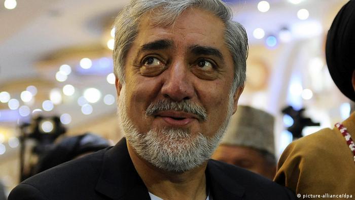 Der afghanische Präsidentschaftskandidat Abdullah Abdullah (Foto: epa)