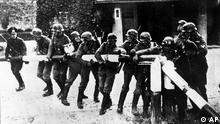 Polen Deutschland Geschichte Jahrestag Überfall auf Polen Grenze