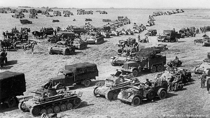 Pocos días después de la firma del pacto, los alemanes atacaron Polonia.