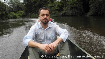 Andrea Crosta Nationalpark Gabon Afrika