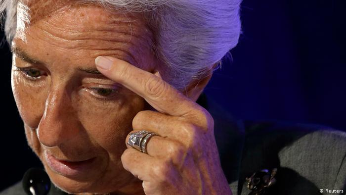 IMF chief Lagarde