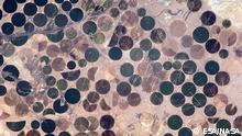 Bildtitel: Bewässerungsanlage Mexico Bildbeschreibung: Alexander Gerst fotografiert Bewässerungsanlage in Mexico Bildrechte: ESA/NASA https://www.facebook.com/ESAAlexGerst/photos/pb.402563783199702.-2207520000.1409047194./547617915360954/?type=3&theater