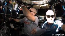 Deutschland Alexander Gerst auf der ISS
