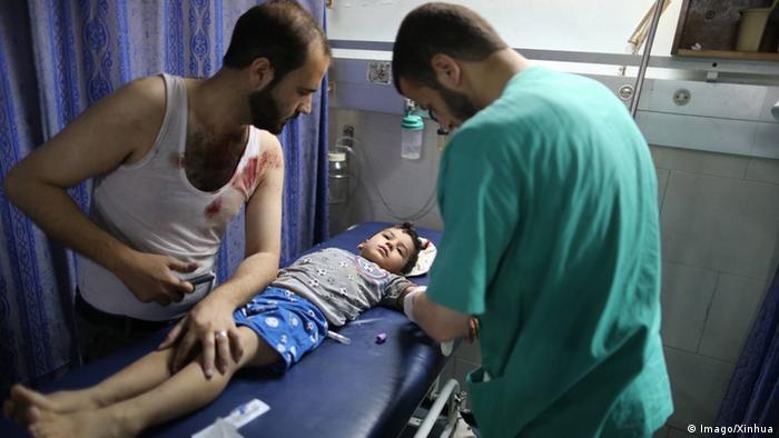 Gaza Krankenhaus Versorgung