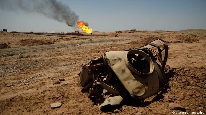 Ölfelder in Kirkuk (Foto: AP)