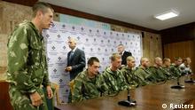 Captured Russian soldiers in Ukraine (Photo: REUTERS/Valentyn Ogirenko)