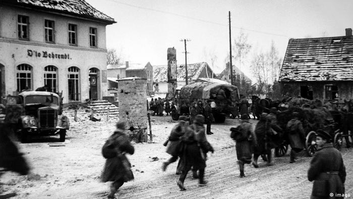 Deutschland Sowjetunion Zweiter Weltkrieg die Rote Armee in Königsberg