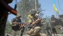 Ukrainische Armee Ilovaisk Ostukraine 26.08.2014