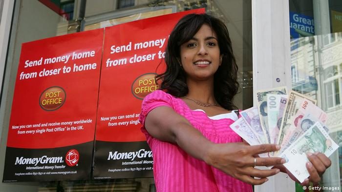 Moneygram Geld Geldtransfer London (Getty Images)