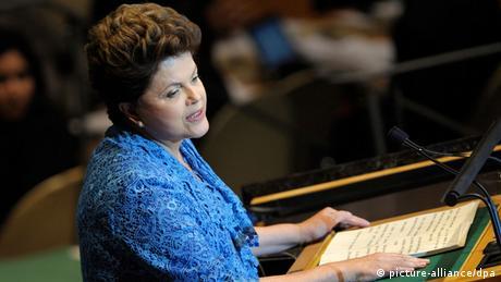 Dilma Rousseff discursa na ONU