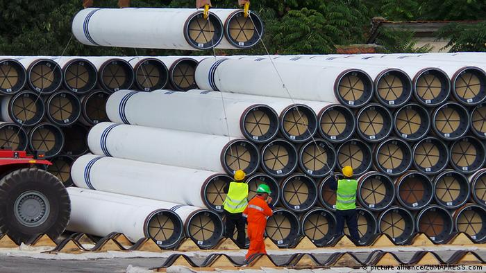 Труби для так і не побудованого російського газопроводу Південний потік у Болгарії