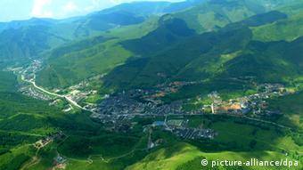 Wutai Shan Gebirge in Nordchina