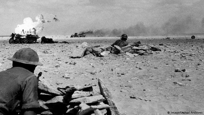 Zweiter Weltkrieg Afrika und Mittlerer Osten unter Erwin Rommel