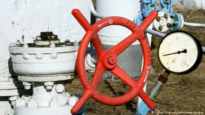 Gas taps in Ukraine (Photo: SERGEI SUPINSKY/AFP/Getty Images)