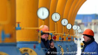Gas transfer station in Belarus (Photo: VIKTOR DRACHEV/AFP/Getty Images