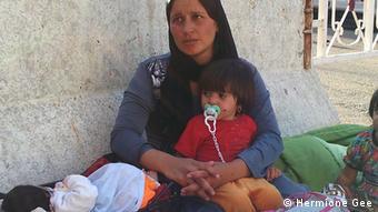 Jesiden in Lalish Irak Flüchtlinge IS