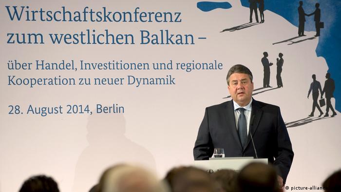 Balkan-Konferenz in Berlin 28.08.2014 Sigmar Gabriel