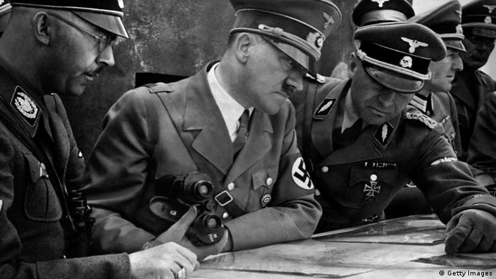 Хитлер с Химлер и Борман