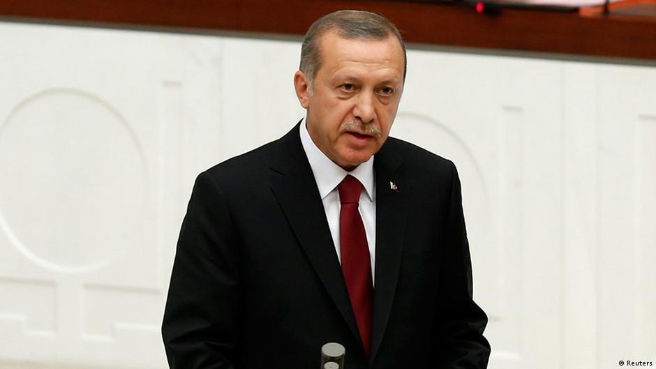 أردوغان يحي أمجاد العثمانية المكتوبة بالحرف العربي | DW | 08.12.2014