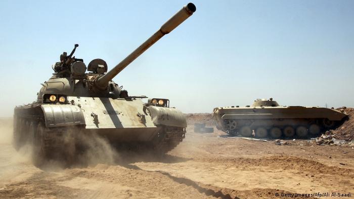 Peschmerga Panzer Irak