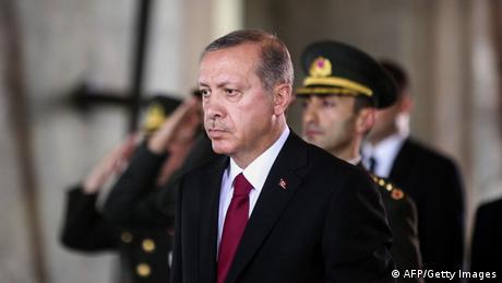 Türkei Besuch Anitkabir Präsident Erdogan Amtseinführung 28.08.2014