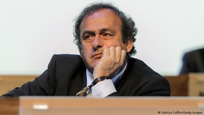 UEFA Präsident Michel Platini