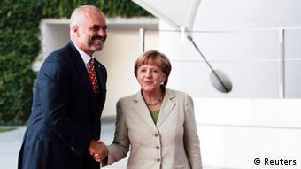 Edi Rama dhe Angela Merkel