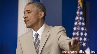 Obama spricht von einem russischen Vormarsch im Osten der Ukraine