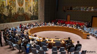 USA UN Sicherheitsrat Sitzung zu Ukraine in New York