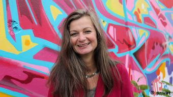 H Mιχαέλα Πρίντσινγκερ ιδρύτρια του diablog.eu και διοργανώτρια του Syn_Energy Berlin_Athens