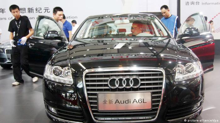 Audi A6 in China (picture-alliance/dpa)