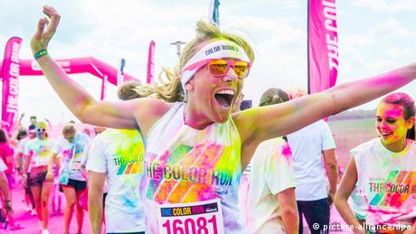 Bildergalerie Seltsame Sommer-Events Color Run 2014