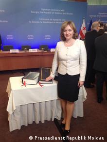 Natalia Gherman Außenministerin der Republik Moldau