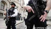 UK England Terror Terrorwarnstufe Polizei 29.08.2014
