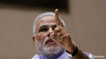 Indien Premier Minister Narendra Modi