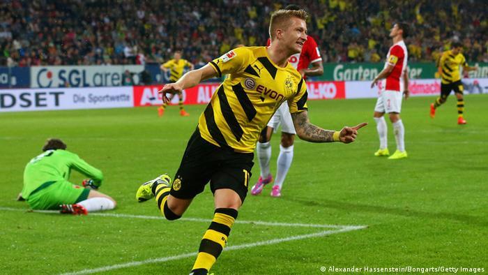 Fußball Bundesliga FC Augsburg vs Borussia Dortmund am 29.08.2014