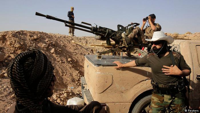 Irak Baquba Peschmerga Kämpfer 29.08.2014