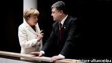 Brüssel Merkel Poroschenko 30.08.2014