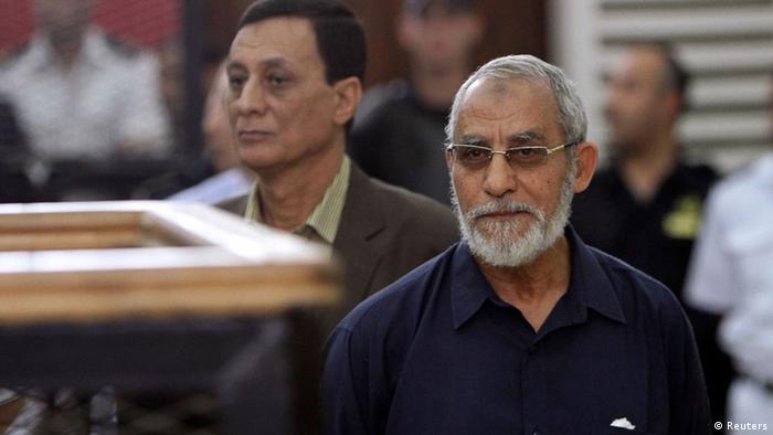 Kairo Prozess Muslimbruderschaft Mohamed Badie 18.05.2014