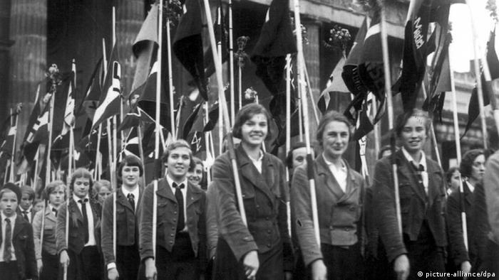 Članice Saveza njemačkih djevojaka