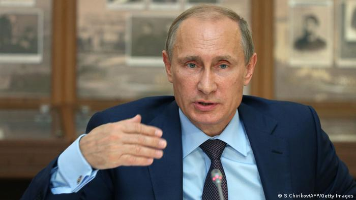 Putin calls for talks on ′statehood′ for eastern Ukraine | News | DW