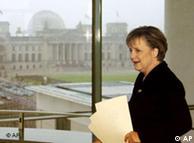 Ангела Меркель в ведомстве федерального канцлера