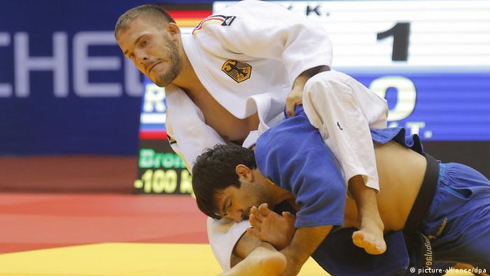 Judo Weltmeisterschaft in Russland Frey und Khaibulaev