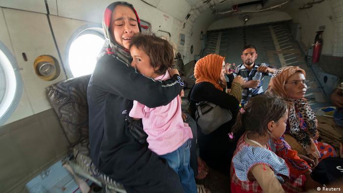Amerli Irak Evakuierung Helikopter Soldat Opfer IS Baghdad
