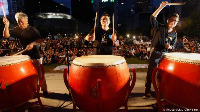 Occupy Central Aktivisten Hongkong