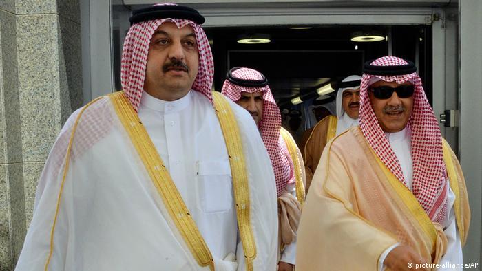 Außenministertreffen der Arabischen Staaten des Golfes in Saudi Arabien