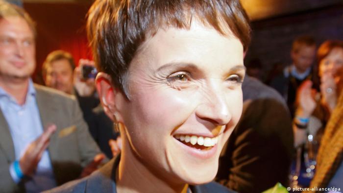 Landtagswahlen in Sachsen 2014 AfD Frauke Petry