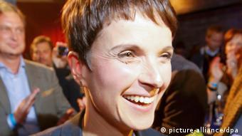 Frauke Petry (Photo: REUTERS/Fabrizio Bensch)